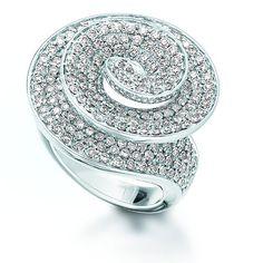 Tornado diamond  ring by Erwin Reich