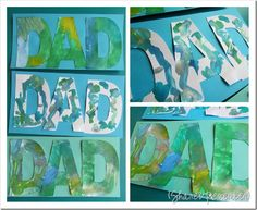 Father's Day Cards Preschool