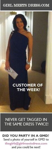 Customer of the Week! Girl Meets Dress - Rent designer dresses from the runway www.girlmeetsdress.com