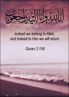 CAN ANY ONE REFUSE THIS ??? THINK !!! Yesterday thousands of people are passed away from this world.. Even today Many people are expired & tomorrow many people are going to expire.. IT MEANS INDEED WE BELONG TO ALLAH AND INDEED TO HIM WE WILL RETURN.. REMEMBER YOUR DEATH EVERYDAY & NIGHT YOU MAY BE NEXT !!! THINK WHAT ARE YOU DOING TODAY ?? DON'T CHEAT YOUR SELF GET BACK TO THE RIGHT PATH BEFORE ITS TOO LATE.. THINK THINK & THINK !!! #Allah #Quran #Hadith #islam #peace #life #love…
