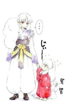 What if Sesshomaru had been a good big brother to #Inuyasha his little half brother