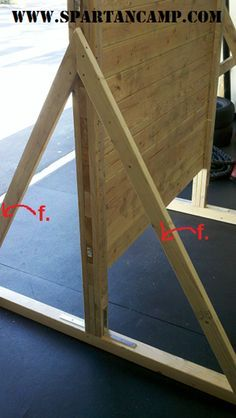 how to build an obstacle course training wall (f) Vingar d7694fdb9151b