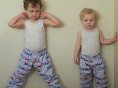 Free PJ Pants Sewing Pattern & Tutorial - 18months-5T