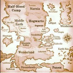 Places in Fairy Tails