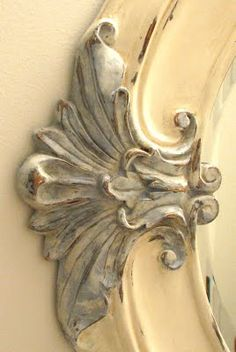 shell-detailed mirror ...