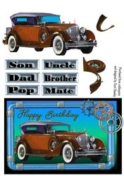 male brown car on Craftsuprint - View Now!