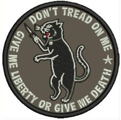 Army Surplus Cat Fight Patch Military Air force Militia WWII War Jacket Bomber