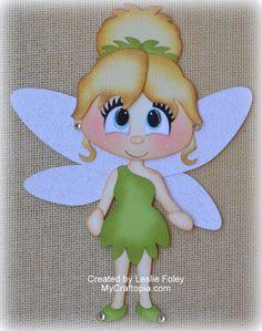 Disney Tinker Bell Fairies Premade Scrapbooking por MyCraftopia
