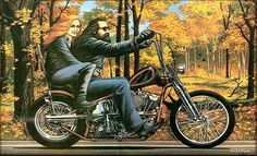 David Mann Motorcycle Art | motorcycle art - Speedzilla Motorcycle Message Forums