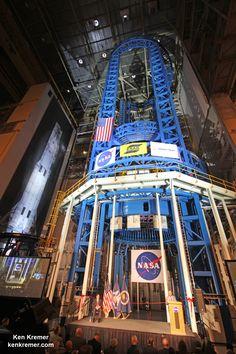 NASA Unveils World's Largest Welder to Build World's Most Powerful Rocket