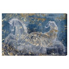 Equestrian Canvas Wall Art