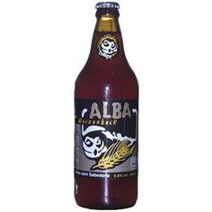 Cerveja Brasileira Trigo Coruja Alba Weizenbock 600ml