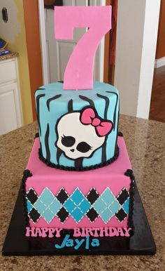 Monster High Cake | Mick's Sweets - Flickr - Photo Sharing!