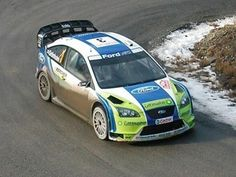 The Ford Focus RS WRC 06 driven by Marcus Grönholm and Timo Rautiainen to win the 2006 Monte Carlo Rally. Focus Rs, Ford Focus, Monte Carlo Rally, Monaco Grand Prix, Car Set, Ford Motor Company, Car Travel, Rally Car, Race Cars