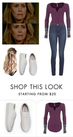 """""""Shelby Miller - ahs / american horror story"""" by shadyannon ❤ liked on Polyvore featuring Free People and Frame Denim"""
