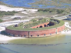 Fort Massachusetts in Harrison County, Mississippi.