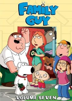 $24.19-$39.98 You'd have to be freakin' crazy to miss out on the superb seventh volume of Family Guy! Loaded with laughs, these 13 hilarious episodes continue the outrageous adventures of Peter, Lois, Chris, Brian, baby Stewie and what's her name. Victory is yours!