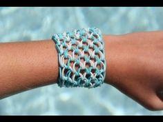 Rainbow Loom Nederlands Dragon Scale Bracelet - Armband (10 pinnetjes)