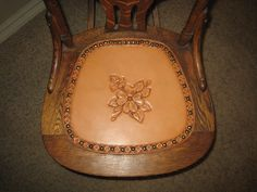Inserto de asiento reemplazo para silla antigua