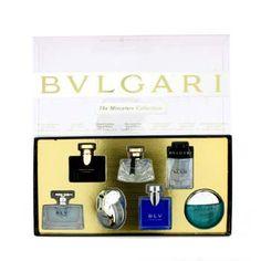 Bvlgari Miniature Coffret: BLV II, Jasmin Noir, Mon Jasmin Noir, Omnia Crysrailine, Aqva, BLV, Man - Perfume & Women's Fragrances - StrawberryNET.com (USA)