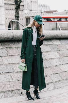 Green girl.