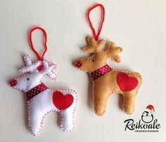 #decorazioni #natalizie #natale #handmade #fattoamano #pannolenci