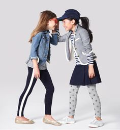 Looking for comfy school attire for Fall? Don't forget a light jacket for recess! (Via j. crew kids)