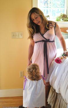 Hospital gown bambina-ideas