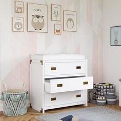 Isabelle & MaxTM Delafuente Changing Table Dresser Babies Rooms, Changing Table Dresser, Baby Room, Storage, Furniture, Home Decor, Purse Storage, Decoration Home, Room Decor
