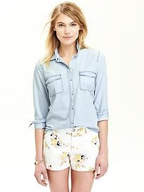 Women's Chambray Shirts | #OldNavy