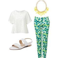 """""""It's all about the sandals"""" by whattheteacherwears on Polyvore"""