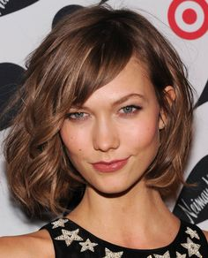 We're turning to model Karlie Kloss for short ideas #shorthair