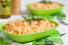 salata de morcovi cu iaurt 2 Turkish Recipes, Ethnic Recipes, Healthy Dishes, Risotto, Macaroni And Cheese, Low Carb, Yummy Food, Vegan, Cooking