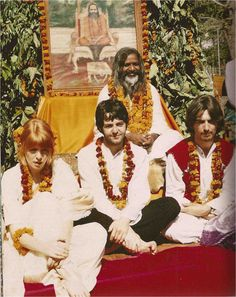Jane Asher and the Beatles | 1968 - India with The Beatles.