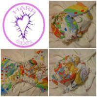 Vintage Rainbow Brite Diaper <3