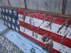 Hey, I found this really awesome Etsy listing at https://www.etsy.com/listing/168027193/rustic-distressed-3ft-american-flag-usa
