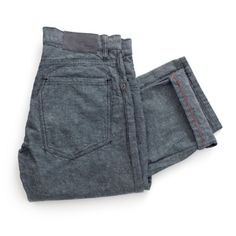 Raleigh Denim.  The Warren Gravel. a richly textured, 11oz. canvas,  rinsed + tumbled for softness and texture.