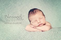 Blessed Baby...before I formed you in the womb I knew you.  Love this scripture, so true and so pure!