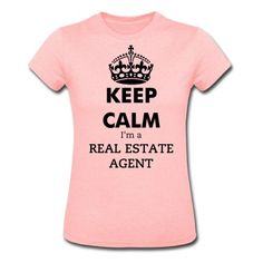 This Keep Calm Real Estate Agent T-Shirt is printed on a T-Shirt and designed by mc497. Available in many sizes and colours. Buy your own T-Shirt with a Keep Calm Real Estate Agent design at Spreadshirt, your custom t-shirt printing platform!