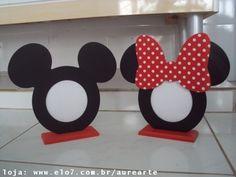 Porta Retrato Mickey e Minnie