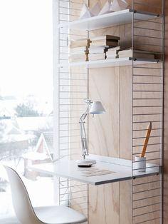small work corner / string furniture