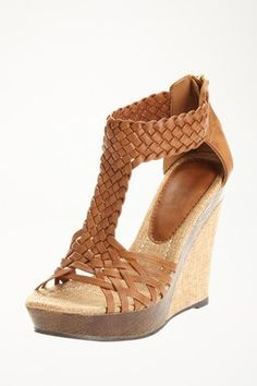 Alamea Open Toe Wedge