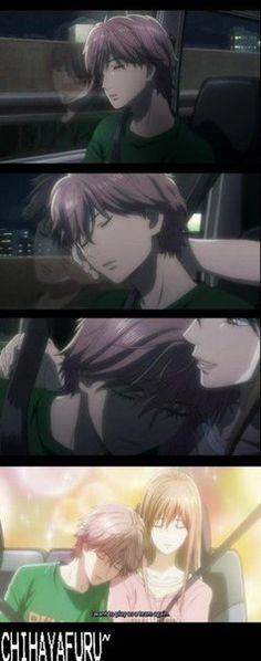 Chihayafuru OMG TAICHI AND CHIHAYA ARE LIFE OMFG THIS IS TOO CUTE!!