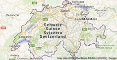 Map of Suiza