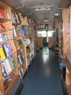 The bookmobile was better than Santa Claus