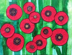 Precious Tips for Outdoor Gardens In general, almost half of the houses in the world… Remembrance Day Art, Poppy Craft, Jr Art, 3rd Grade Art, Collage Art Mixed Media, School Art Projects, Kindergarten Art, Collaborative Art, Art Classroom