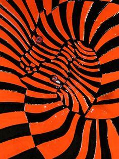 Victor Vasarely.  http://www.artexperiencenyc.com/social_login