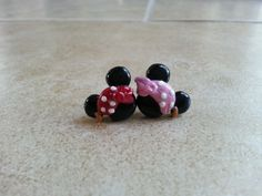 Pirate Mickey Mouse Earrings-Pirate Minnie by SiennasBowtique