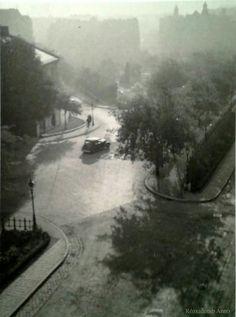 1938. Kilátás a Rómer Flóris utca 26. (Zárda u. 26.) ablakából.