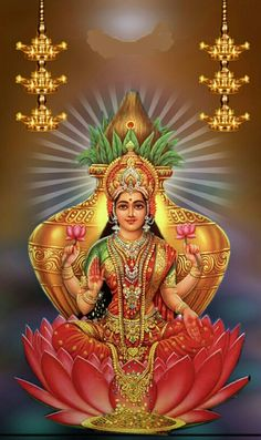 """The Goddess, Kishijoten (吉祥天, lit. """"Auspicious Heavens""""), of Japan corresponds to Lakshmi Lakshmi hindu art Lakshmi wealth Lakshmi goddesses Lakshmi haram Lakshmi tanjore painting Lakshmi vaddanam Lakshmi bangle Lakshmi decoration Lakshmi necklace Lakshmi Photos, Lakshmi Images, Indian Goddess, Goddess Lakshmi, Bhagavad Gita, Mantra, Lord Shiva Family, Lord Vishnu Wallpapers, Lord Murugan"""